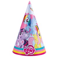My Little Pony Party/fest hatte, 8 stk