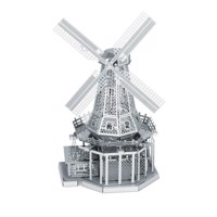 Metal Earth Windmill Silver Edition
