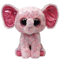 Ty Beanie Boo Pink Elephant Stuffed Toy