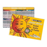 Junior Artist Set, 50pcs. Oil Pastels