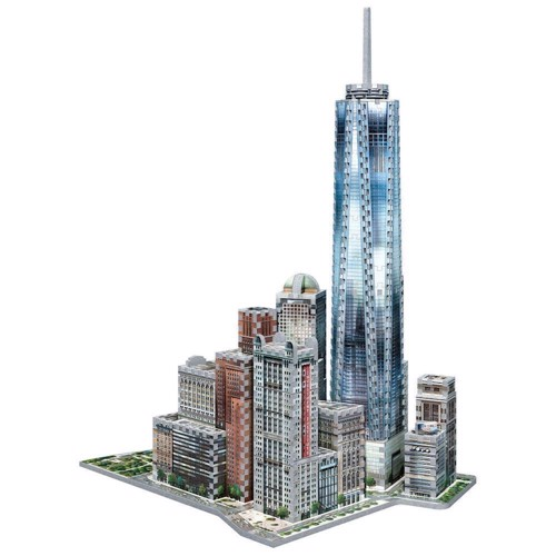 Wrebbit 3D Puzzle - New York, 875st.