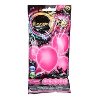 Illooms LED Balloner, 5 stk pink