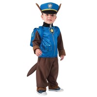 Paw Patrol Udklædning - Chase - S