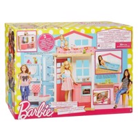 Barbie to etages hus - barbie hus