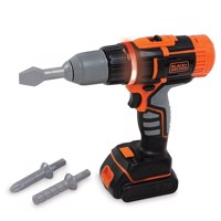 Smoby Black &Decker Electric Cordless Drill