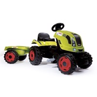 Smoby Claas Tractor with Trailer