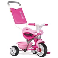 Smoby - Be Move Comfort Trehjulig cykel 3i1, rosa