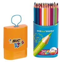 BIC - Kids, Tusser, Tuscher,  Durable Pack Evolution, 24 stk
