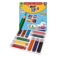 BIC - Kids, Farveblyanter, Storkøb, Institutioner, ECOlutions Kids Evolution Triangle, 144 stk