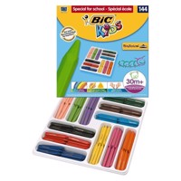 BIC - Kids, Farvekridt, storkøb, institutioner,  Triangle Color chalk, 144 stk.