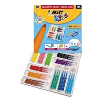 BIC - Kids, Tusser, Tuscher, Storkøb, Institutioner, XL, 96 stk.