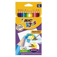 BIC - Kids, Farveblyanter, Aqua Colour, 12 stk.