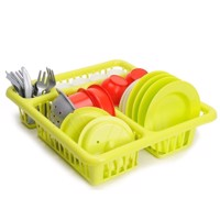 Ecoiffier 100% Chef Dishes in dish rack