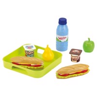 Ecoiffier 100% Chef Sandwich Set with tray