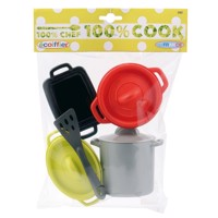 Ecoiffier 100% Chef Cookware set