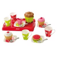 Ecoiffier 100% Chef tea set with Muffins