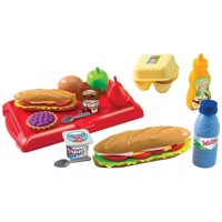 Ecoiffier toddler mealtime set with Tray