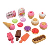 Ecoiffier 100% Chef sweet treats, 17dlg