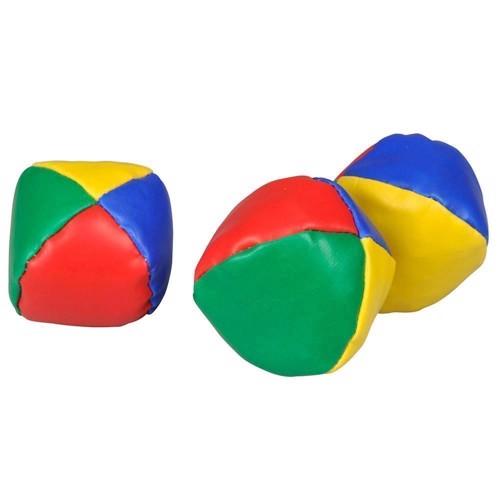 Jongleringsbollar i påse, 3 st
