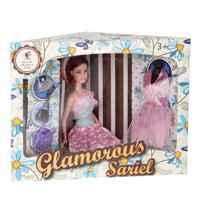 Glamor Modepop with Accessories