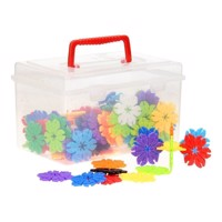 DIY Building Set Flowers in Storage Box