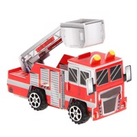 3D Puzzle Fire Engine