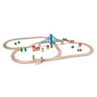 Eichhorn Train Set with Accessories, 55dlg.