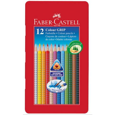 Faber Castel, 12 Fave Pencils GRIP 2001