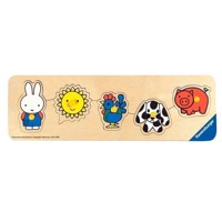 Ravensburger puslespil Miffy on the farm puslespil wood, 5 PCs.