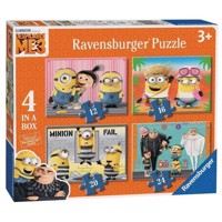 Despicable Me 3 Puzzle, 4in1
