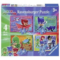 PJ Masks Puzzle, 4in1