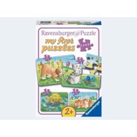 Ravensburger My first puslespil Cute pets