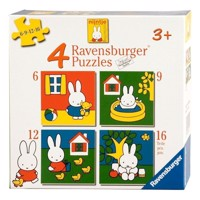 Ravensburger Miffy, 4 in 1