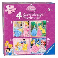 Ravensburger Disney Princess, 4 in 1