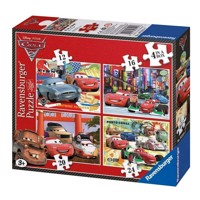 Ravensburger Cars 2, 4 in 1