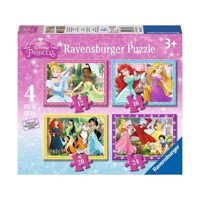 Ravensburger Disney Princess puslespil, 4 in 1