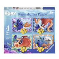 Ravensburger Finding Dory puslespil, 4 in 1