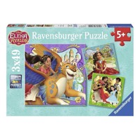 Disney Elena or Avalor Puzzle, 3x49st.