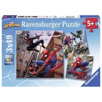 Spiderman Puzzle, 3x49st.