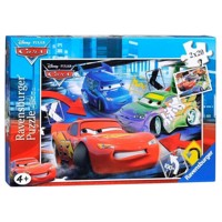 Ravensburger puslespil Cars mad race, 2x24st.