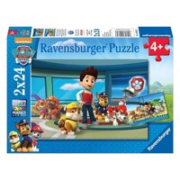 Ravensburger puslespil Paw Patrol helpful great mouse detective, 2x24st.