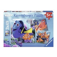 Ravensburger puslespil Finding Dory-find Dory, 3x49st.