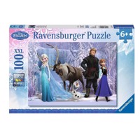 Ravensburger puslespil Disney Frozen: In the realm of the snow Queen, 100pcs.