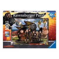 Ravensburger puslespil How to train your Dragon 2, 100pcs. XXL