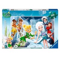 Ravensburger puslespil Disney Fairies Winter, 100pcs. XXL