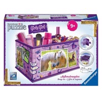 Ravensburger Girly Girl 3D puslespil horses-storage box