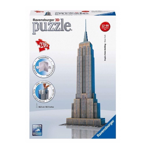 Ravensburger 3D puslespil Empire State building