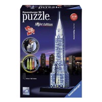Ravensburger 3D puzzle-Chrysler building Night Edition