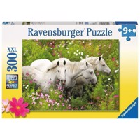 Ravensburger puslespil Horses in Field of Flowers, 300ST.