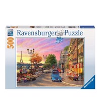 Ravensburger puslespil Evening atmosphere in Paris, 500st.
